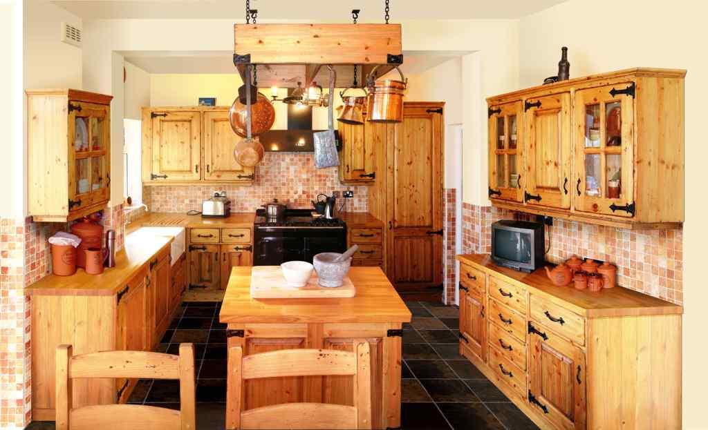 Варианты дизайна кухонь