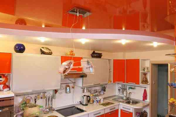 Виды натяжного потолока для разных комнат