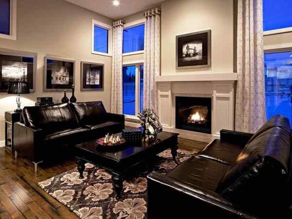 Кожаный интерьер вашей квартры
