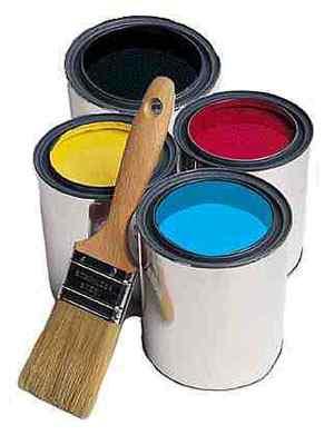 Виды и типы красок