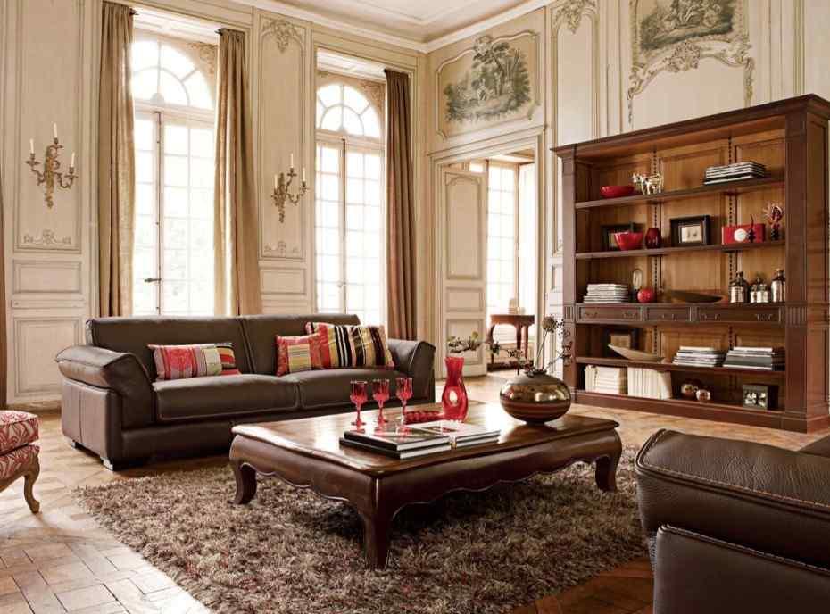 Фото гостиной в стиле ренессанс