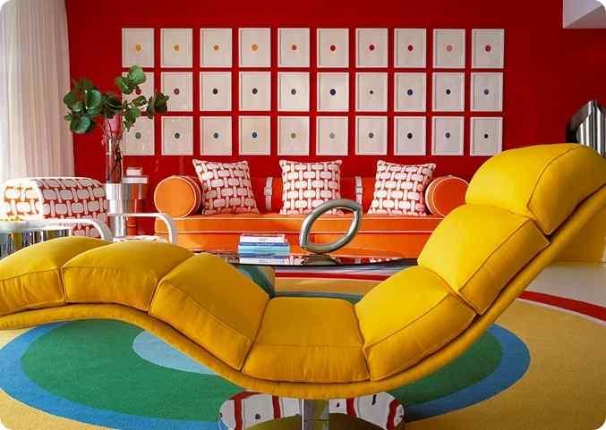 Фото мебели в стиле Поп - Арт