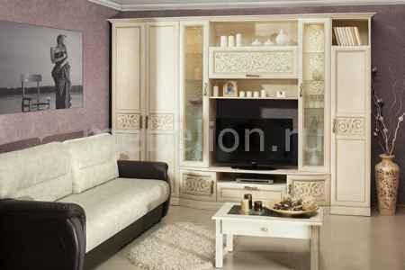 Купить Любимый Дом Гарнитур для гостиной Александрия кожа ленто/рустика
