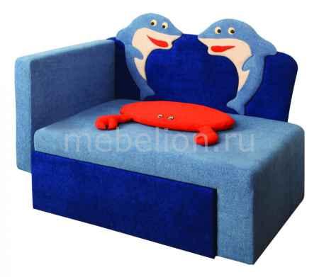 Купить Олимп-мебель Соната М11-7 Дельфины 8031127 синий