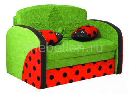 Купить Олимп-мебель Мася-9 Божья коровка 8181127 зеленый/красный