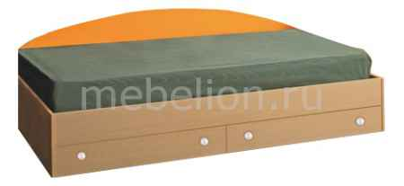 Купить Олимп-мебель Тони-2 4210227 дуб линдберг/оранжевый