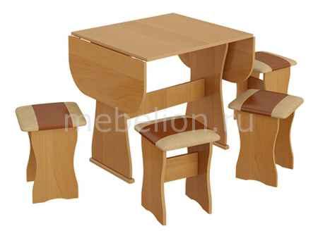 Купить Мебель Трия тип 4 ольха/бук/коричневый