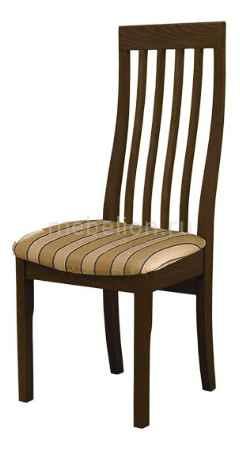 Купить Мебель Трия Стул Вагнер Т1 СМ-231.2.001 венге/бежевый в коричневую полоску