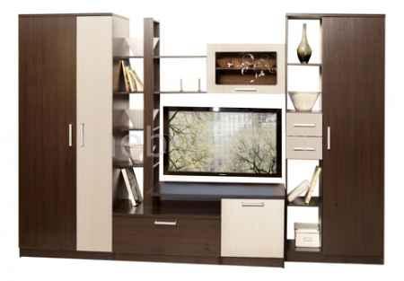 Купить Олимп-мебель Альфа-10 венге/дуб линдберг