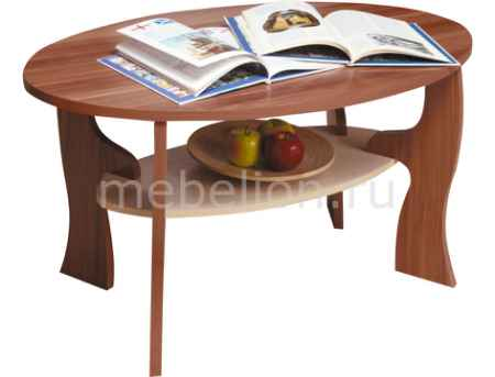 Купить Олимп-мебель Стол журнальный Маджеста-4 1300627 ясень шимо темный/ясень шимо светлый