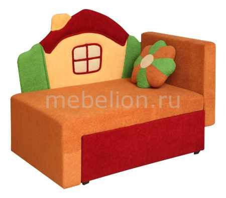 Купить Олимп-мебель Соната М11-1 Домик 8001127 красный/оранжевый