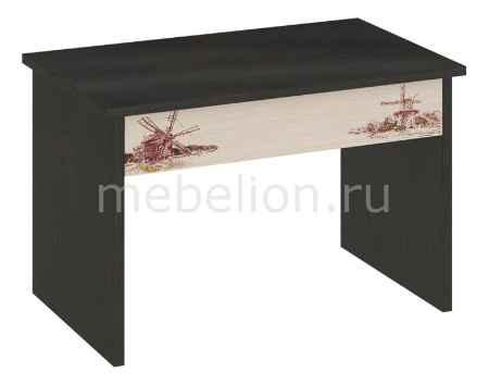 Купить Мебель Трия Стол трансформер Тип 7 венге цаво/дуб молочный с рисунком