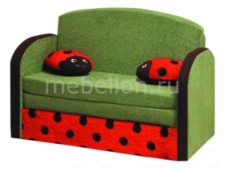 Купить Олимп-мебель Мася-9 Божья коровка 8171127 зеленый/красный