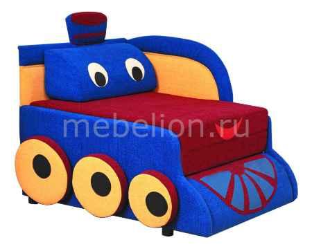 Купить Олимп-мебель Мася-7 Паровозик 8121127 синий/красный/желтый