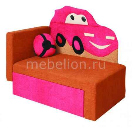 Купить Олимп-мебель Соната М11-4 Машинка 8021127 коричневый/розовый