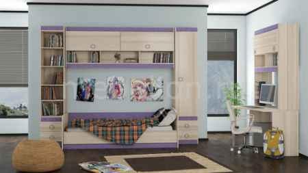 Купить Мебель Трия Индиго ГН-145.017 ясень коимбра/навигатор