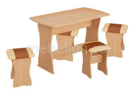 Купить Мебель Трия тип 1 бук/коричневый
