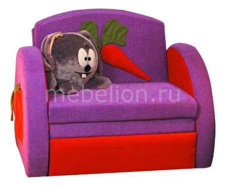Купить Олимп-мебель Мася-8 Кролик 8131127 сиреневый/красный