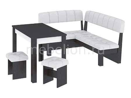 Купить Мебель Трия Уголок кухонный Альфа венге цаво/белый