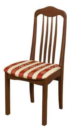 Купить Мебель Трия Стул Элегия Т1 СМ-68.4.001 орех/бежевый в бордовую полоску