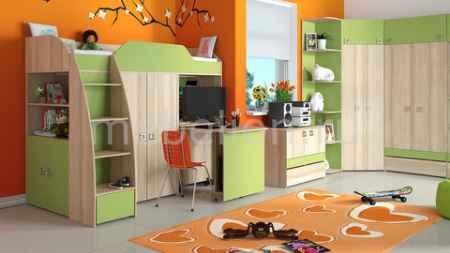 Купить Мебель Трия Радуга-2+Киви ГН-84.00.001 ясень коимбра/панареа