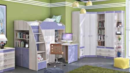 Купить Мебель Трия Радуга-2+Индиго ГН-84.00.021 ясень коимбра/навигатор