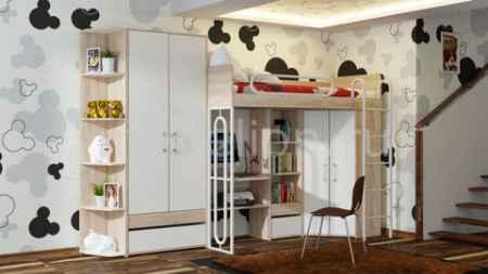 Купить Мебель Трия Атлас ГН-186.001 дуб сонома/хаотичные линии