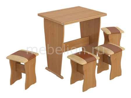 Купить Мебель Трия тип 3 ольха/бук/коричневый