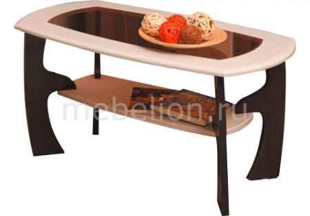 Купить Олимп-мебель Стол журнальный Маджеста-3 1288527 венге/клен азия