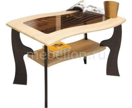 Купить Олимп-мебель Стол журнальный Маджеста-9 1378527 венге/клен азия