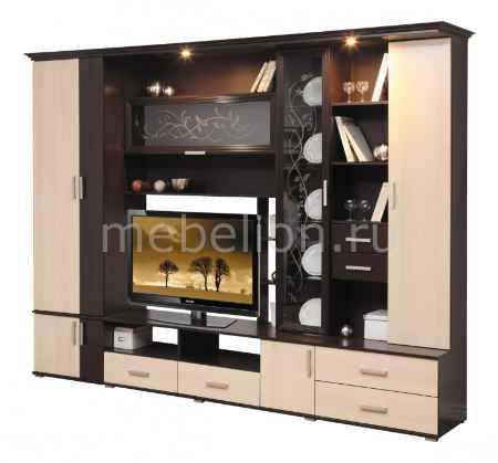 Купить Олимп-мебель Глория-5 венге/дуб линдберг
