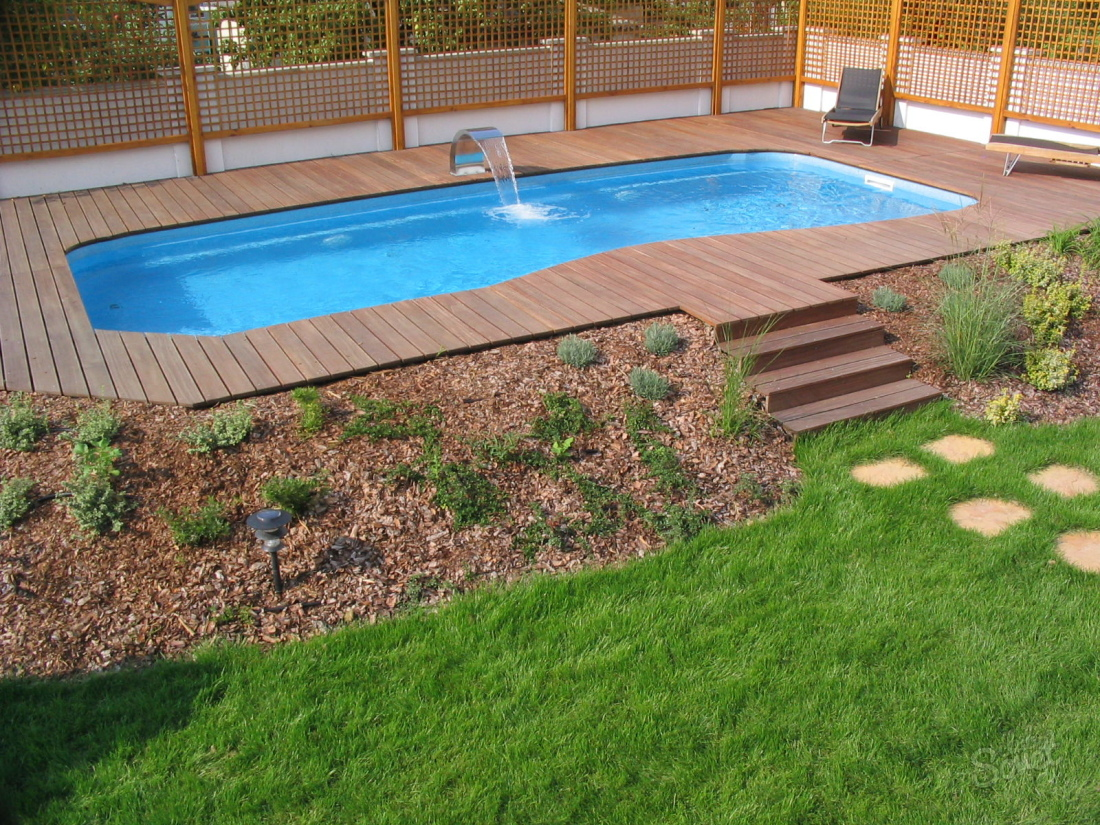Этапы строительства бассейна на даче