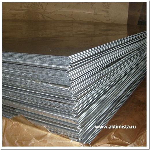 Типы листов алюминия