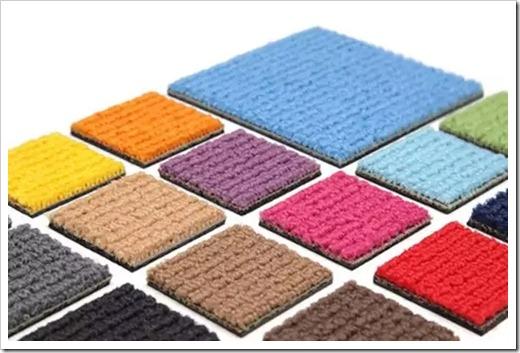 Преимущества использования ковровой плитки