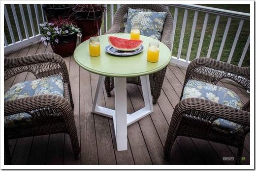 Красивые и прочные столы для террасы, сада