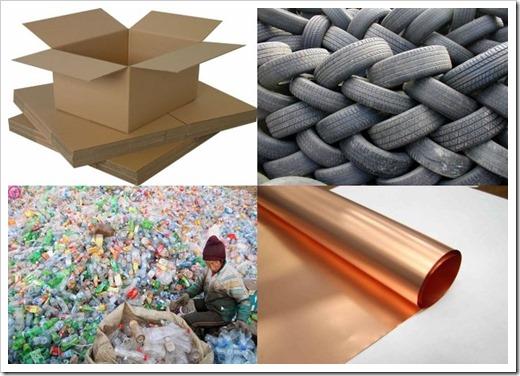 Виды мусора и способы его утилизации