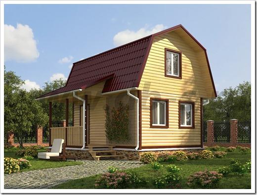 Наиболее распространённые технологии строительства дачных домов