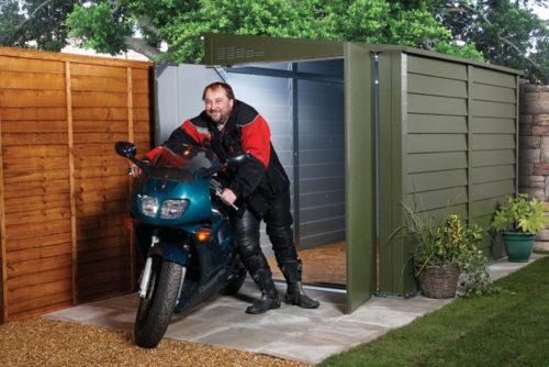 гараж для мотоцикла