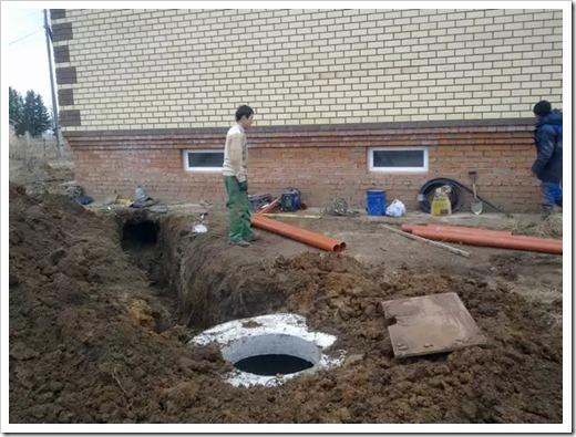 Выполнение сборки водопровода
