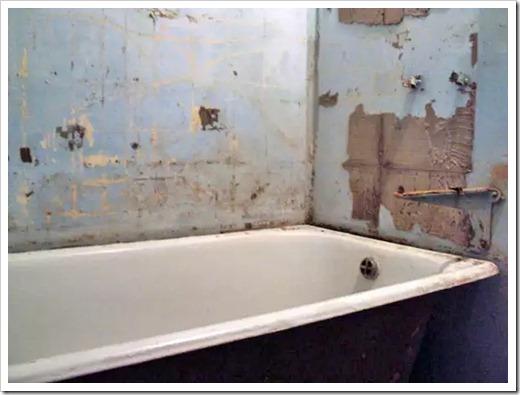 С чего в принципе начинается ремонт в ванной комнате?