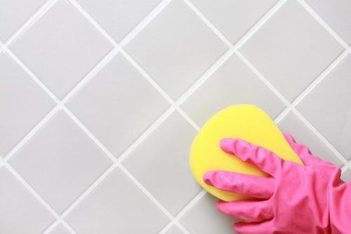 как почистить плитку