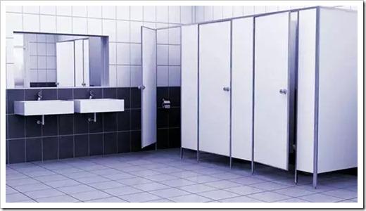 Классификация сантехнических перегородок
