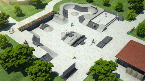 как построить скейт парк
