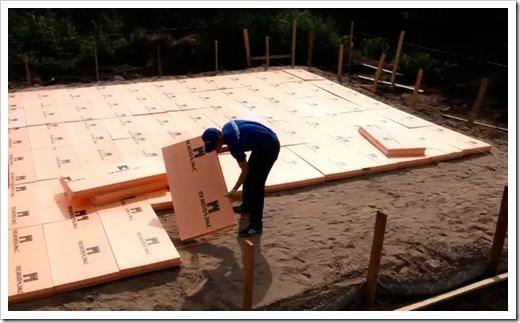 Выбор типа фундамента для дачного дома
