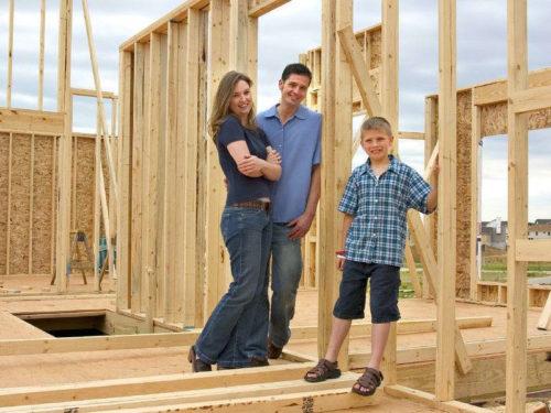 Как построить каркасно-щитовой дом своими руками