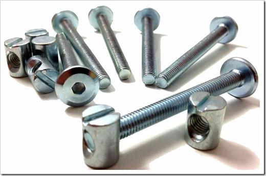 Резьбовые соединения: наиболее распространённый вид мебельного крепежа