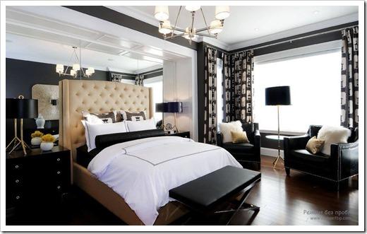 Стоит ли в принципе организовывать верхнее освещение в спальне