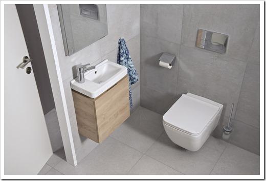 Маленькая туалетная комната