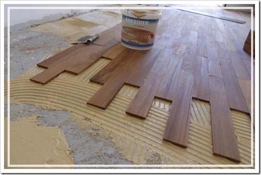 Многослойность напольного покрытия