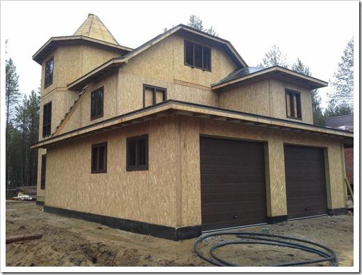 Основные достоинства домов из СИП-панелей